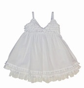 Kate Mack 'Sur La Mer' White Voile Portrait Dress -Sizes 18m--4t-10 Left Only!