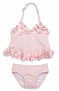 Kate Mack *Pink Poolside Petals* Tankini- Sizes 6M to 3T