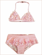 Kate Mack *Pink Poolside Petals* Bikini- Sizes 4 to 6X