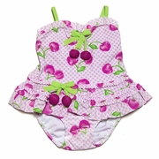 Kate Mack - Cherry Picked 2pc Tankini- Sizes 6m to 24m