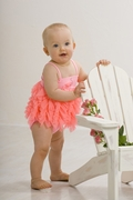 Kate Mack *Flamingo Fun* 2pc Baby Girl Swimsuit - 6M Left Only!
