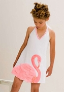 Kate Mack *Flamingo Flirt* Halter Sundress- SOLD OUT!
