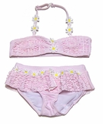 Kate Mack Girls *Daisy May* Skirted two Piece Swimsuit - Sizes 3t to