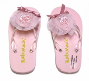 Kate Mack 'Vintage Rose' Flip Flops 10-2