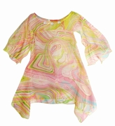 Kate Mack 'Venetian Glass'Tunic Dress/Cover-up  -Sizes 7-8 Left Only!
