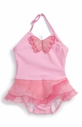 Kate Mack-*Butterfly Ballet* -One Piece Swimsuit  -Sizes 3m to 2t