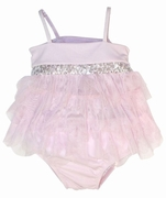 "Kate Mack ""Poolside Princess"" 2 Piece Tankini Swimsuit -Sizes 3m-6m-4t Left Only!"