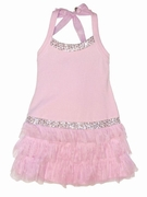 "Kate Mack ""Poolside Princess"" Pink Fancy Party Dress-Sizes 2t to 8"