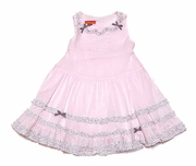 Kate-Mack -Pink *Charmed I'm Sure* Dress - Size 12m to 24m