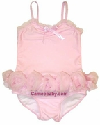 "Kate Mack""Barefoot Ballerina"" swim skirted 1PC - Size 3T Soldout!"