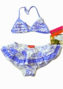 Kate-Mack*Cote D'azur* Swim Skirted 2PC - Sizes 4 & 5 only!