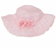 Kate Mack - Girls Pink Blooming Roses Sun Hat- sold out