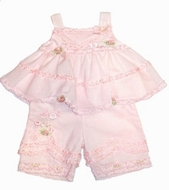 "Biscotti Baby - ""Timeles Treasure"" Top & Pant 2PC -Size 6m"
