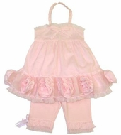 "Kate Mack ""Barefoot Ballerina"" 2PC Amazing Tunic & Capri Set Sale ! Size 24M- left Only!(SOLDOUT)"