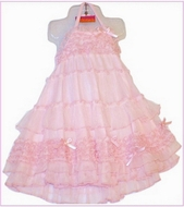 "Kate Mack ""Pixie Petals"" Gorgeous Pink Dress-Sizes 12m-24m & 2t left only!"