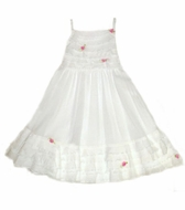 Kate Mack - White Dress- Size 3t left only!