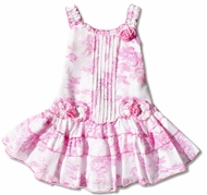 Biscotti Dresses- Pink Rose -Size ,SOLD OUT