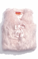 "Kate Mack ""Faux Fur Vest"" Fluffy -4t SOLDOUT!"