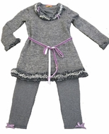 Kate Mack *Alpine Lace*  Tunic & Legging Set - Only sizes 8 & 10 left!