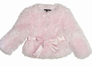 Kate Mack *Belle Epoque* Amazingly Soft and Beautiful Pink Poodle Jacket Sizes 12M-to 4T