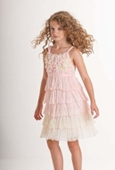 Biscott Dress *Blushing Rose* - Gorgeous Sleeveless Dress Sizes 4 - 10