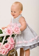Biscotti Dresses *Little Darling* with Matching Hat - Sizes 24M to 4T
