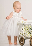 Biscotti Dress *All Dolled Up* Ivory Confection -Sizes 3M to 24M