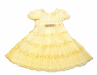 Biscotti Dresses *J'Adore* Ivory Silk Tiered Dress- Sizes 3M to 2T