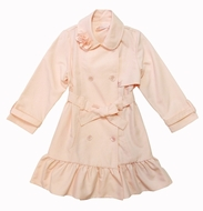 Biscotti Dresses -Pink Trench Coat- Not in Stock