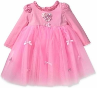 Biscotti Baby - Sweet Pink Tulle Ballerina Dress with Rosette Heart