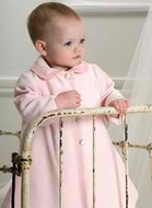 Biscotti Dresses *Cute Couture*  Velvet Pink Dress Coat Size24m Left Only!
