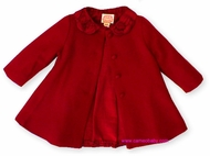 Biscotti Baby *Tis The Season* Red Coat- SOLD OUT