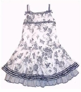 Biscotti Dress *Toile Garden* Twirl Dress -SOLD OUT!