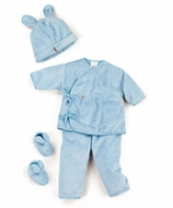Bunnies By The Bay *Wee Hop Wear-Blue* 2PC -Fits 0-3m- SOLD OUT