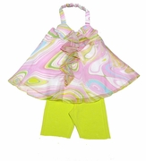 Kate Mack 'Venetian Glass' Top & Capri -Sizes  2T to 10