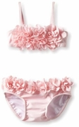 Kate Mack *Blooming Roses* Pink Swim Baby Bikini -6m to 24m