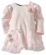 Kate Mack Baby-Girls * Left Bank* Velour Dress