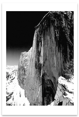 MONOLITH, THE FACE OF HALF DOME, YOSEMITE NATIONAL PARK, CA, 1927