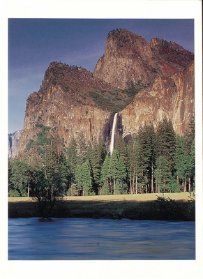 BRIDALVEIL FALL FROM GATES OF THE VALLEY