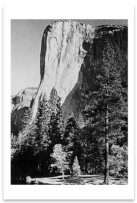 EL CAPITAN, YOSEMITE NATIONAL PARK, CA, 1956