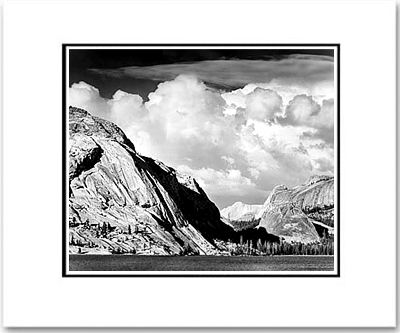 TENAYA LAKE & MOUNT CONNESS, YOSEMITE, 1946