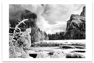 GATES OF THE VALLEY, YOSEMITE VALLEY, CA, c 1938