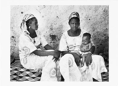 LAMI AND HAWA, CO-WIVES, NIGERIA, 1981