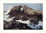 THE GREAT ARCH, FARALLON ISLANDS, CA - LARGE POSTCARD