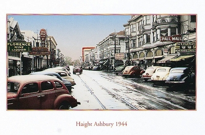 HAIGHT ASHBURY, 1944, SAN FRANCISCO, CA