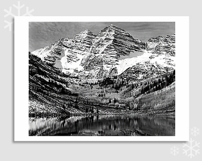 MAROON BELLS - HOLIDAY CARDS
