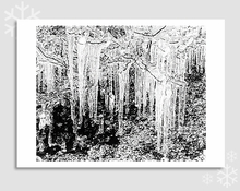 ICICLES & WILLOW TWIGS - HOLIDAY CARDS