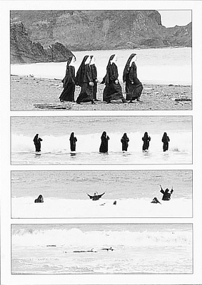 NUNS IN THE SURF - GREETED