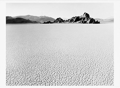THE RACE TRACK, DEATH VALLEY NATIONAL MONUMENT, 1988