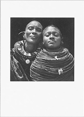 SAMBURU WOMEN, KENYA, 1984
